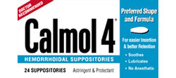Calmol 4® Hemorrhoidal Suppositories